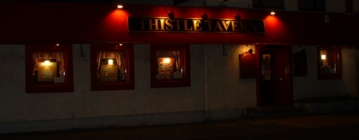 thistle tavern at night